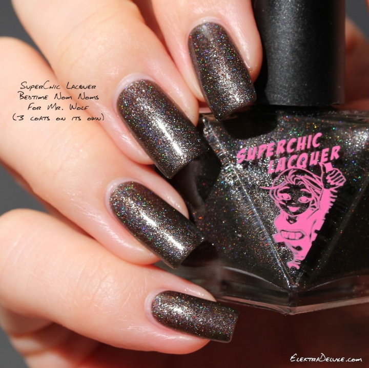 SuperChic Lacquer Bedtime Nom Noms for Mr. Wolf