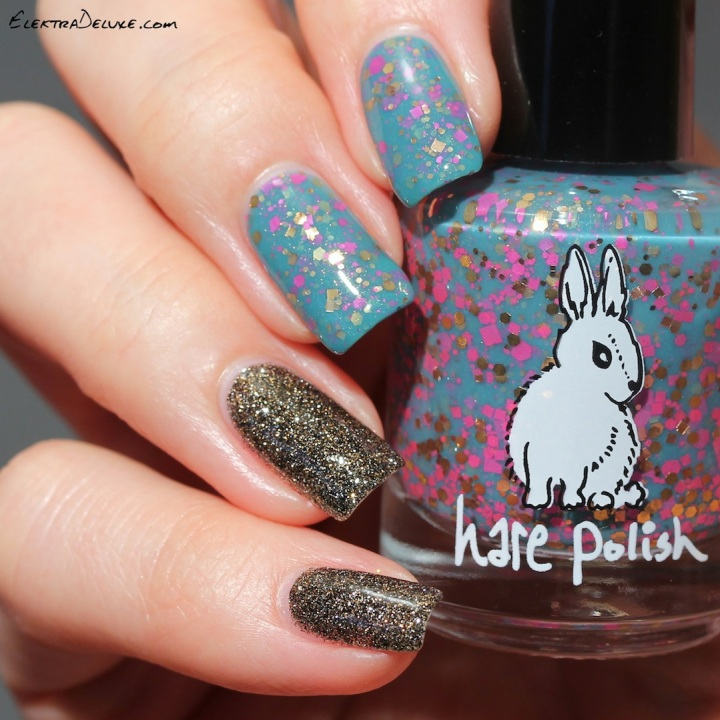 Hare Polish Neon Palm & China Glaze Boundary of Memory
