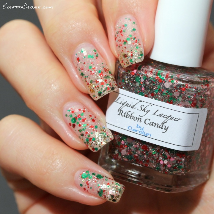 Liquid Sky Lacquer Ribbon Candy