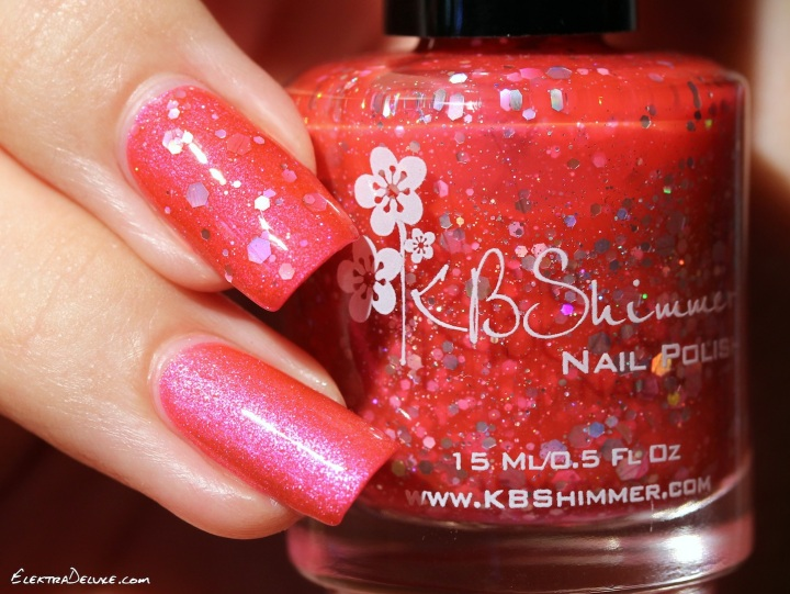 Glam Polish Sweet Pea, KBShimmer Belle of the Mall
