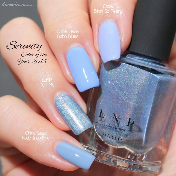 Serenity - Pantone Color of the Year 2016