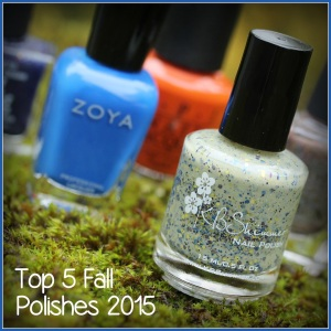 My Top 5 Fall Polishes 2015