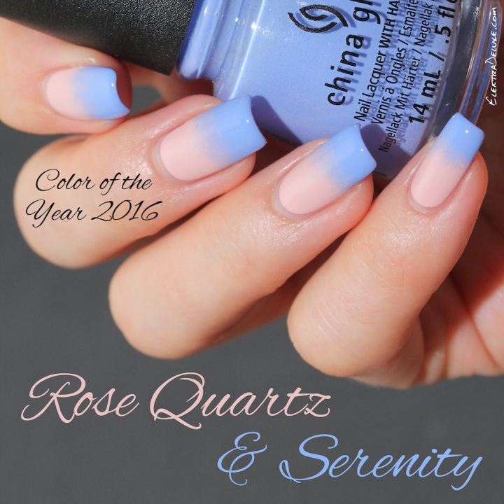 Rose Quartz & Serenity - Pantone Color of the Year 2016