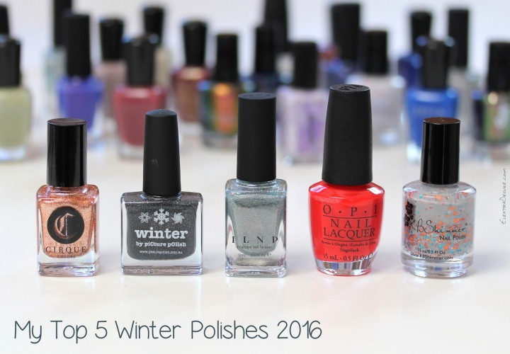 My Top 5 Winter Polishes 2016