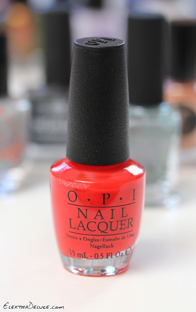 Opi Coca Cola Nail Polish Collection Partial: My Top 5 Winter Polishes 2016