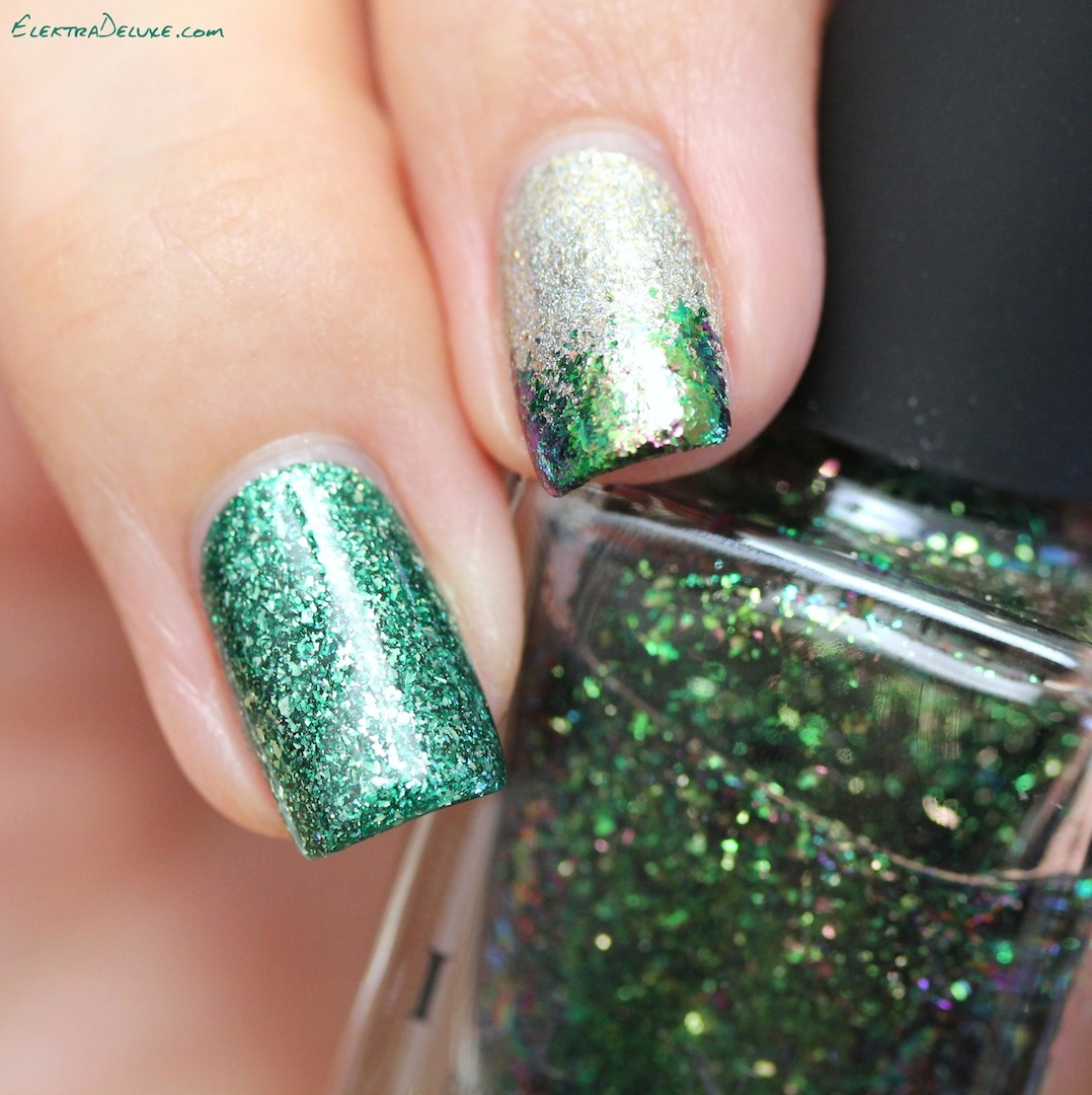 Green Mani for St. Patrick\'s Day – Elektra Deluxe