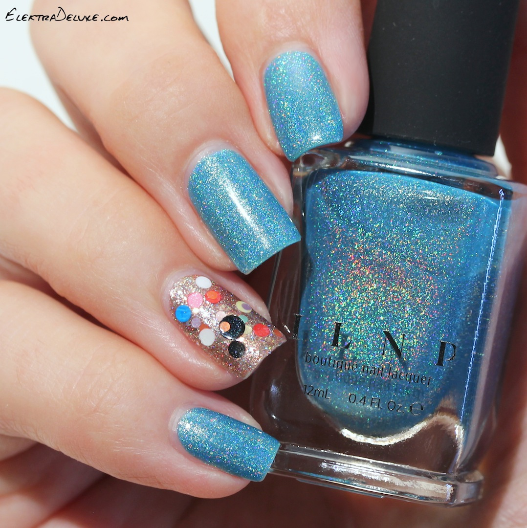 ILNP Float On and a Clown nail ;-) – Elektra Deluxe