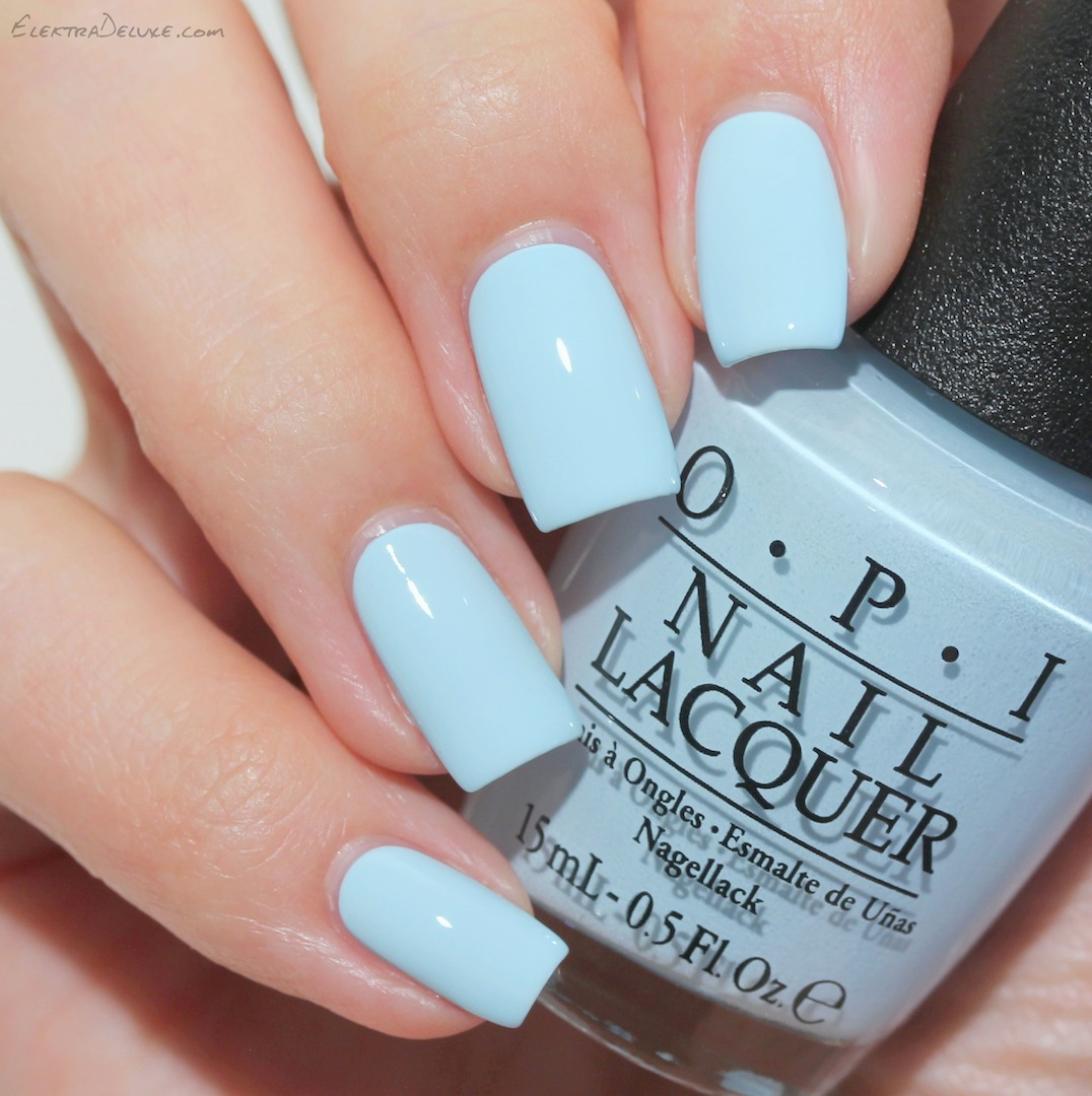 OPI Soft Shades 2016 Pastels – Swatches & Review – Elektra Deluxe