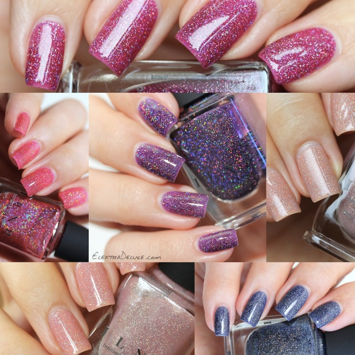 ILNP Spring Jellies 2016: Sandy Baby, Sweet Pea, Jello Shot, Valerie, BFF's, Night Light