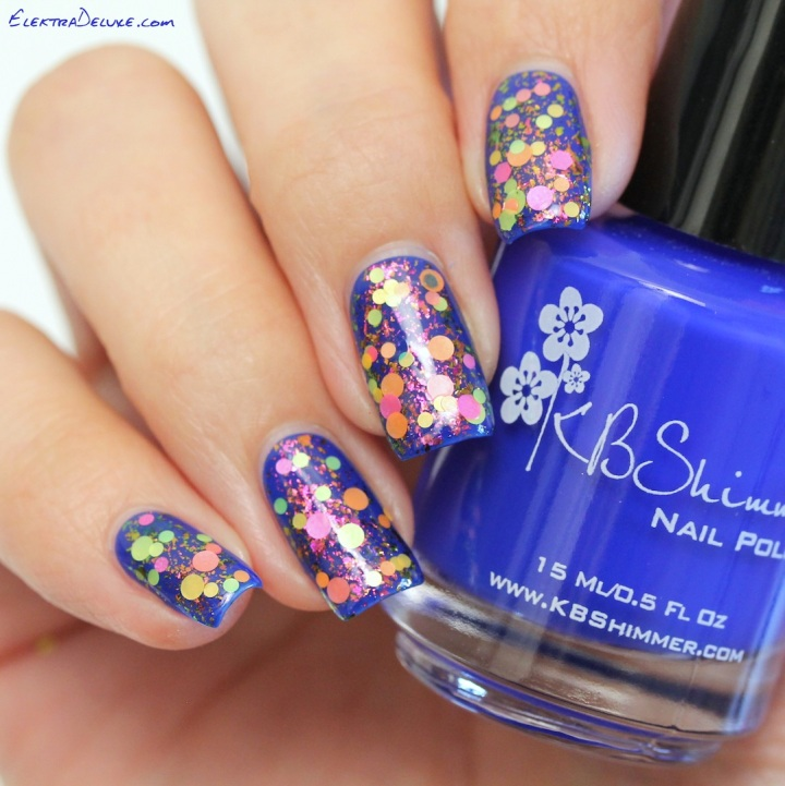 KBShimmer Low And Be Bold, ILNP Electric Carnival, Starrily Gumballs