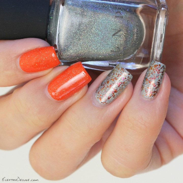 Picture Polish Autumn, ILNP Top Down & Glory